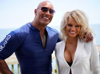 Dwayne 'The Rock' Johnson Blows Up Instagram: Pamela Anderson Is Joining Baywatch – Plus a Jumanji Remake Is in the Works!