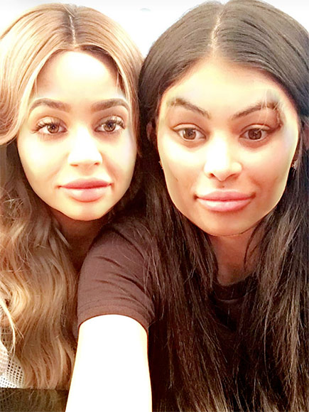 Kylie Jenner and Blac Chyna Pose for Snapchat: 'We've Been Best Friends the Whole Time'| Couples, Keeping Up with the Kardashians, TV News, Blac Chyna, Kylie Jenner, Tyga
