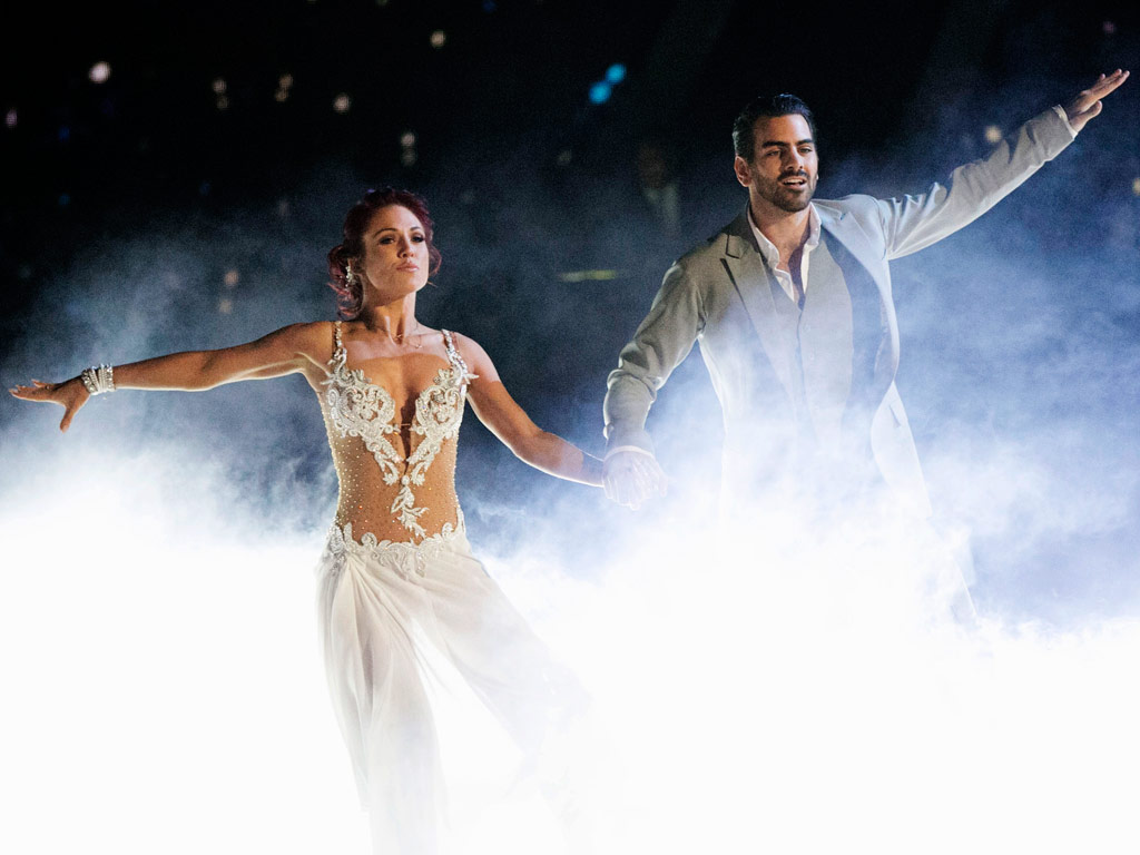'I Might Be a Little in Love with Him': Dancing with the Stars' Sharna Burgess on Working with Deaf Model Nyle DiMarco| Dancing With the Stars, People Picks, TV News, Sharna Burgess