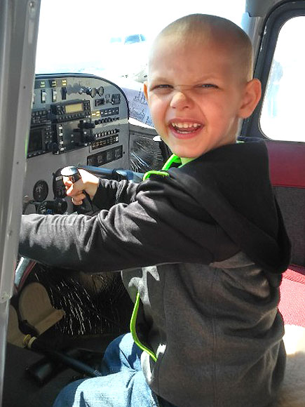 5-Year-Old with Terminal Brain Cancer Lives Out Dreams by Becoming Firefighter, Policeman and Pilot| Cancer, Medical Conditions