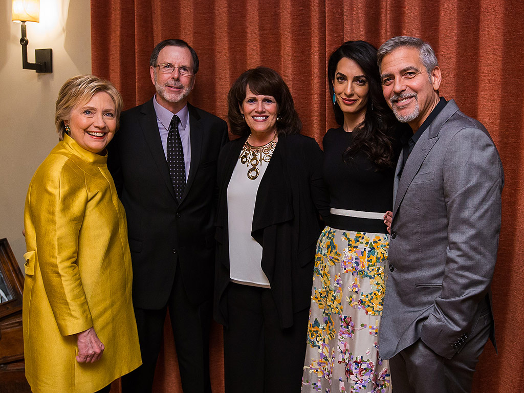 Hillary Clinton Fundraiser at George and Amal Clooney's: Attendee's Diary