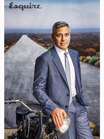 George Clooney Gushes About Amal: 'I Feel Like an Idiot Talking to My Own Wife'| politics, Movie News, Amal Alamuddin, Barack Obama, George Clooney