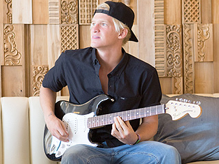 Cody Simpson Has a Boys' Weekend at Coachella – See Him Rock a Guitar