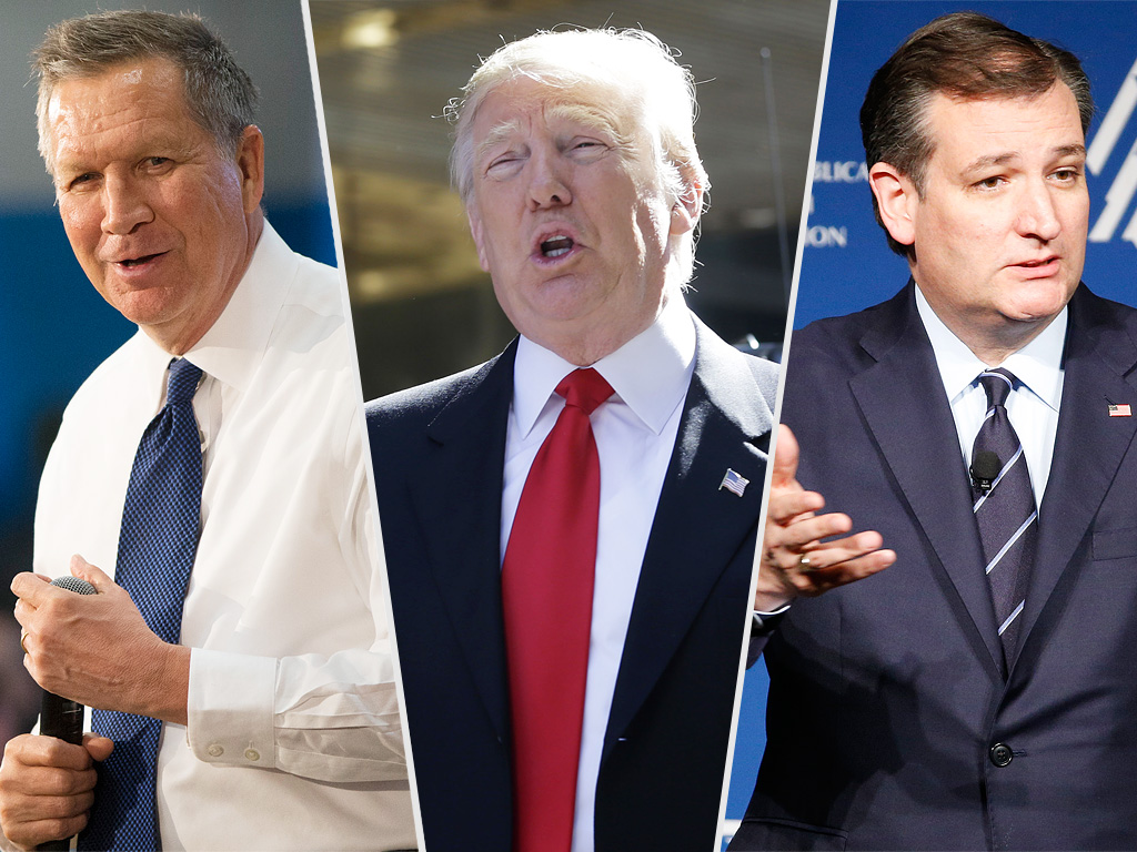 Cruz and Kasich Team Up to Stop Trump as GOP Front-Runner Promises to Disappear If He Loses the Nomination| 2016 Presidential Elections, politics, Donald Trump
