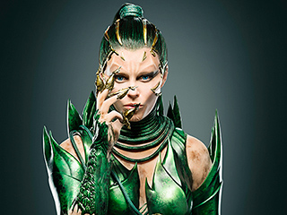 First Look: Elizabeth Banks Morphs into Mighty Power Rangers Villain Rita Repulsa for Big-Screen Reboot