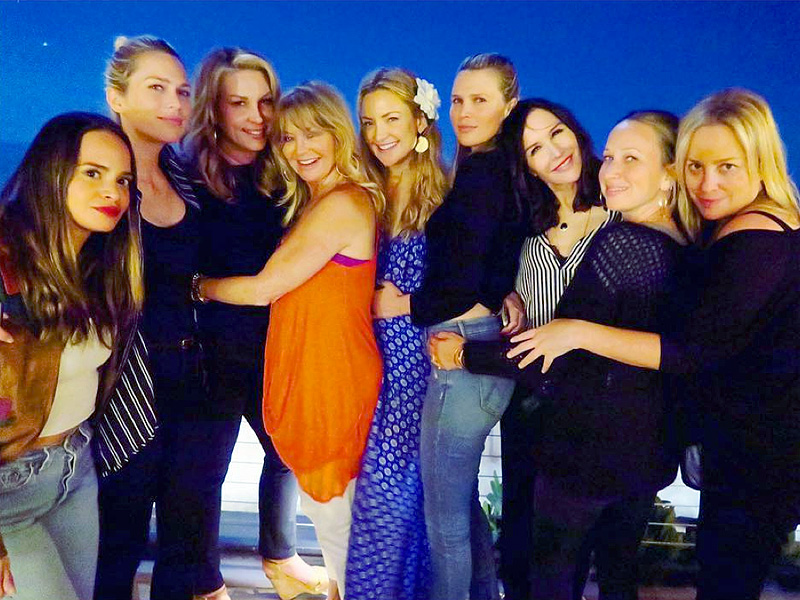 Inside Kate Hudson's Birthday: Shirtless Men, Meditation and Sushi
