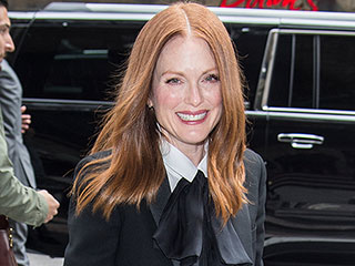 Julianne Moore Says Her Teenagers Live 'Regular' Lives: 'I Make Breakfast, We Take Family Vacations'