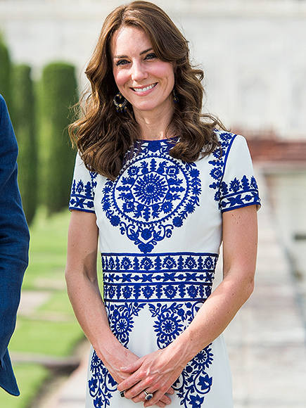 Princess Kate Wears $7 Souvenir Stall Earrings During Romantic Visit to the Taj Mahal with Prince William| The British Royals, The Royals, Kate Middleton
