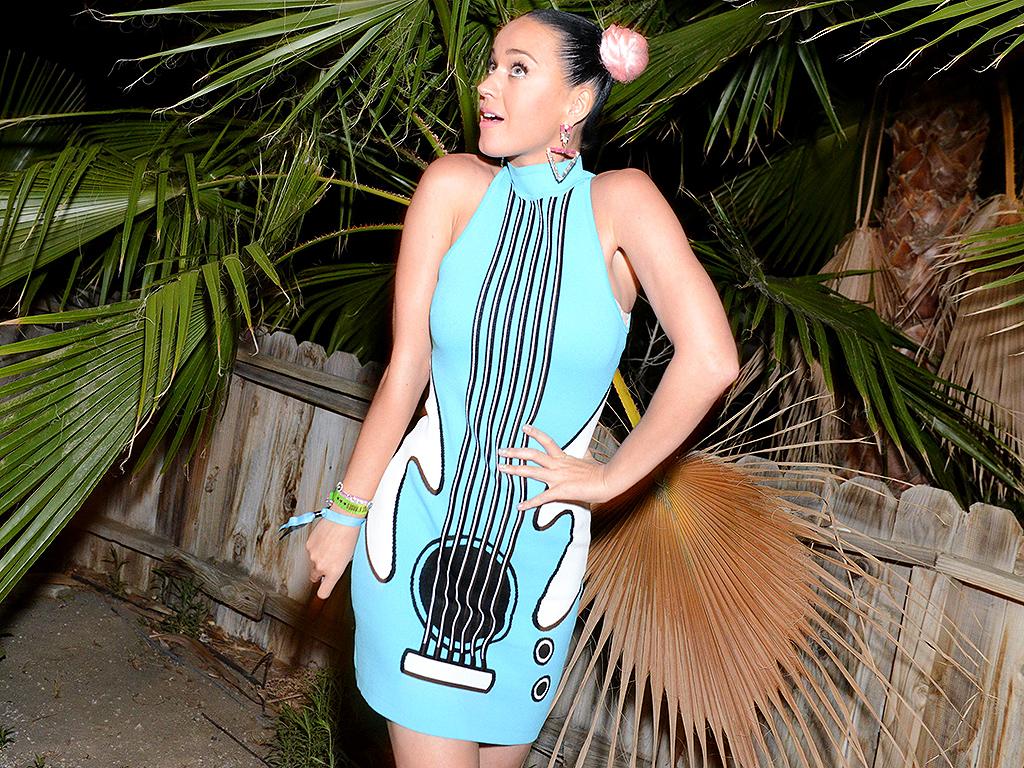 Katy Perry and Orlando Bloom Seen at Coachella Music Festival: Photos