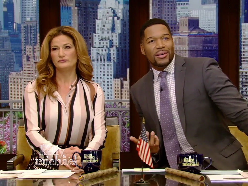 Kelly Ripa Takes Day Off from Live! After Being 'Blindsided' by Michael Strahan Departure Announcement| ABC, People Scoop, TV News, Kelly Ripa, Michael Strahan