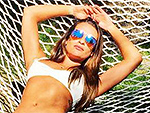 Lea Michele Breaks Out Her White Bikini for a 'Girls Trip' to Coachella with Friends