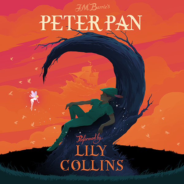 Behind the Scenes with Lily Collins During Her Peter Pan Audiobook Recording Session| Books, Movie News, Lily Collins