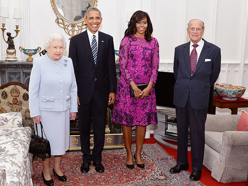 President Obama, First Lady Gives Queen Elizabeth Birthday Gfit