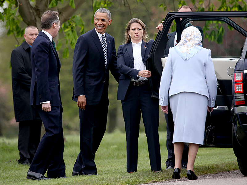 Find Out What President Obama and the First Lady Gave Queen Elizabeth for Her Birthday!  The British Royals, The Royals, Barack Obama, Michelle Obama, Queen Elizabeth II