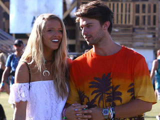 Patrick Schwarzenegger & Girlfriend Abby Champion Hit Up Coachella – with a Quick Visit from Dad Arnold