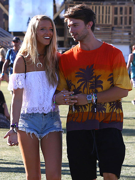 Patrick Schwarzenegger and Girlfriend Hit Up Coachella, Get Visit from Arnold