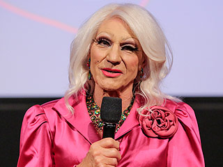 Patrick Stewart Dresses in Drag for Blunt Talk Event in LA – and Twitter Compares Him to Helen Mirren