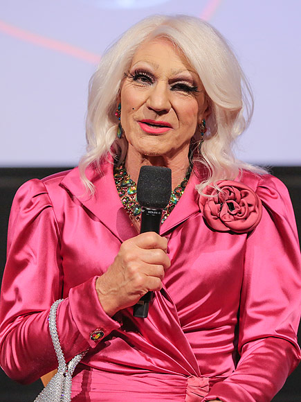 Patrick Stewart in Drag for Blunt Talk Event: Photo