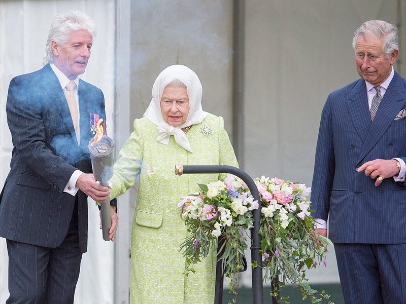'Three Very Special Cheers!' Prince Charles Celebrates His Mom the Queen as 1,200 Fires Are Lit Around Britain| The British Royals, The Royals, Prince Charles, Queen Elizabeth II
