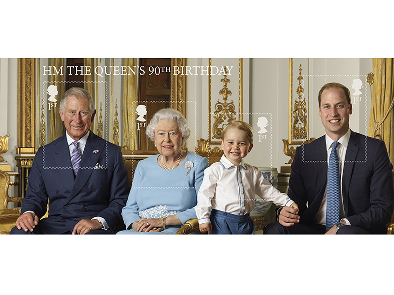 The Cutest Prince George Portrait Yet – and the Secret to How He Got So Tall! See 4 Generations of Royal Heirs in Amazing New Photo| The British Royals, The Royals, Prince Charles, Prince George, Prince William, Queen Elizabeth II