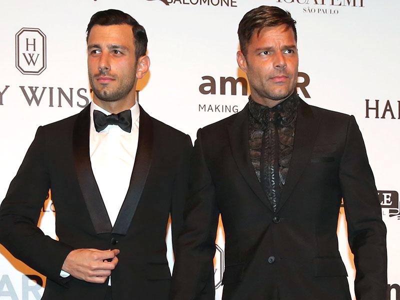 Ricky Martin and Jwan Yosef Make Red Carpet Debut