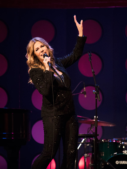 Why Rita Wilson Always Has Whiskey On-Hand When She Performs (Hint: It's for Her Voice)  Music News, People Picks, Rita Wilson, Tom Hanks