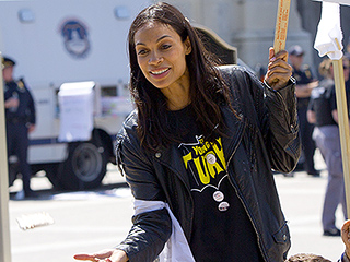 Rosario Dawson Reportedly Arrested, Fined at U.S. Capitol Protest: 'We're Putting Ourselves on the Line'