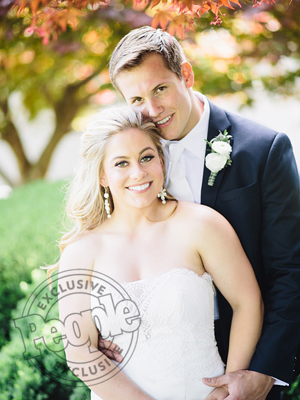 Shawn Johnson's Husband Andrew East Sang Surprise Wedding Serenade