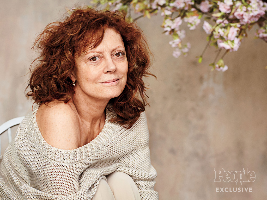 Why Susan Sarandon Posed Without Makeup for the Very First Time – at 69 Years Old| Beauty, Bodywatch, Most Beautiful on Covers, BodyWatch, Most Beautiful 2016, Individual Class
