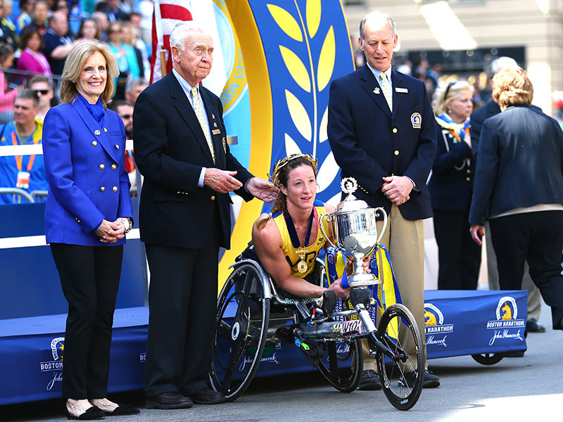 Wheelchair Racing Sensation Tatyana McFadden Muscles Her Way To A Fourth Boston Marathon Victory