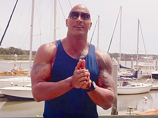 Want to Spend the Day with Dwayne 'The Rock' Johnson on the Baywatch Set?