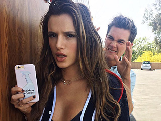 Bella Thorne Shows Off Toned Abs – and Very Rude Phone Case in Instagram Snap
