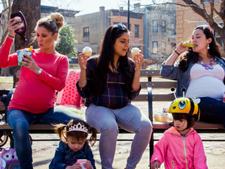 Photographer Takes a Humorous Look at the Realities of Pregnancy in Her 'What the Bump?' Series
