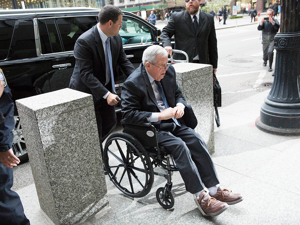 Dennis Hastert Sentenced to 15 Months In Prison For Pay-Offs