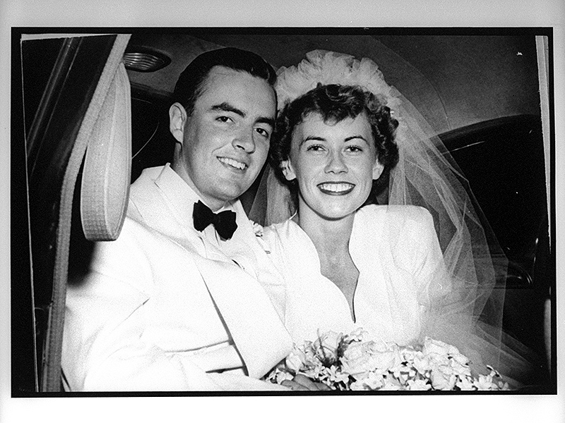 Former U.S. Senator Harris Wofford, 90, Marrying a Man 20 Years After Wife's Death: My Life Is 'a Story of 2 Great Loves'| Couples, Marriage