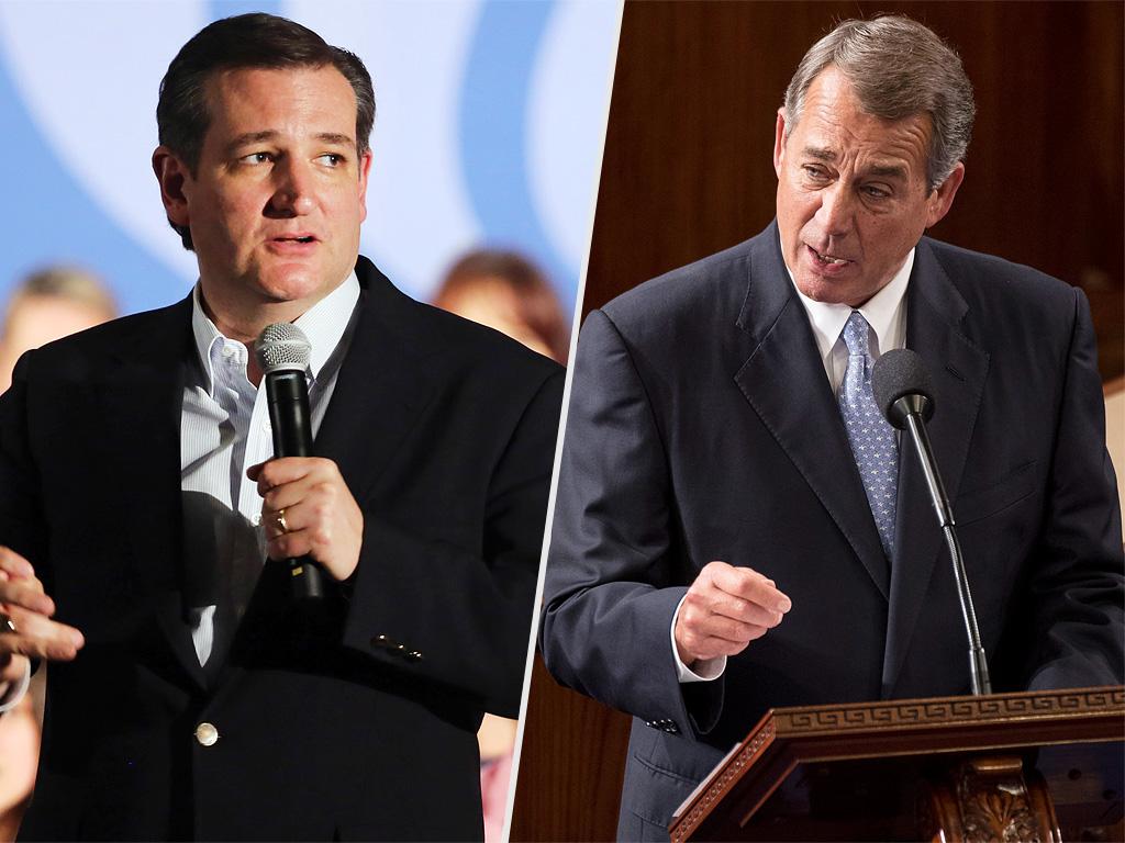 John Boehner Calls Ted Cruz Lucifer in the Flesh