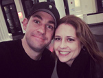 Jam on! John Krasinski Gets Support for His New N.Y.C. Play from 'Rabid Theater Fan' Jenna Fischer