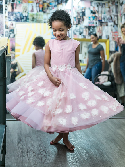 Leah Still Sees the Dress She Helped Design for Her Dad's Wedding for the First Time| Marriage, Weddings