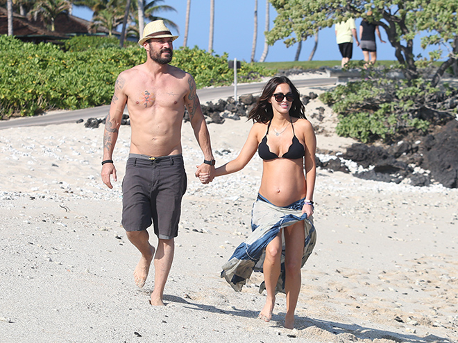 Megan Fox Pregnant Hawaii Brian Austin Green