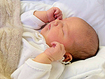 His Royal Cuteness: See the First Close-up Look at Prince Carl Philip and Princess Sofia's Newborn Son