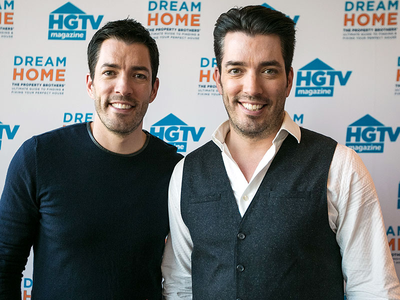 Property Brothers stars Drew and Jonathan Scott