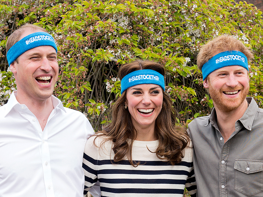 WATCH: William, Kate and Harry Will Make You Smile in New Video for Mental Health (Don't Miss the End!)| The British Royals, The Royals, Kate Middleton, Prince Harry, Prince William
