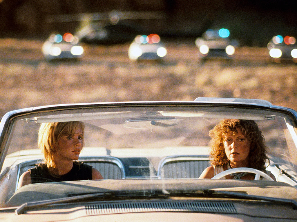 Susan Sarandon & Geena Davis Open Up About Thelma & Louise's Iconic Final Scene – and George Clooney Reading for Brad Pitt's Part| Thelma & Louise, Movie News, Brad Pitt, Geena Davis, George Clooney, Susan Sarandon