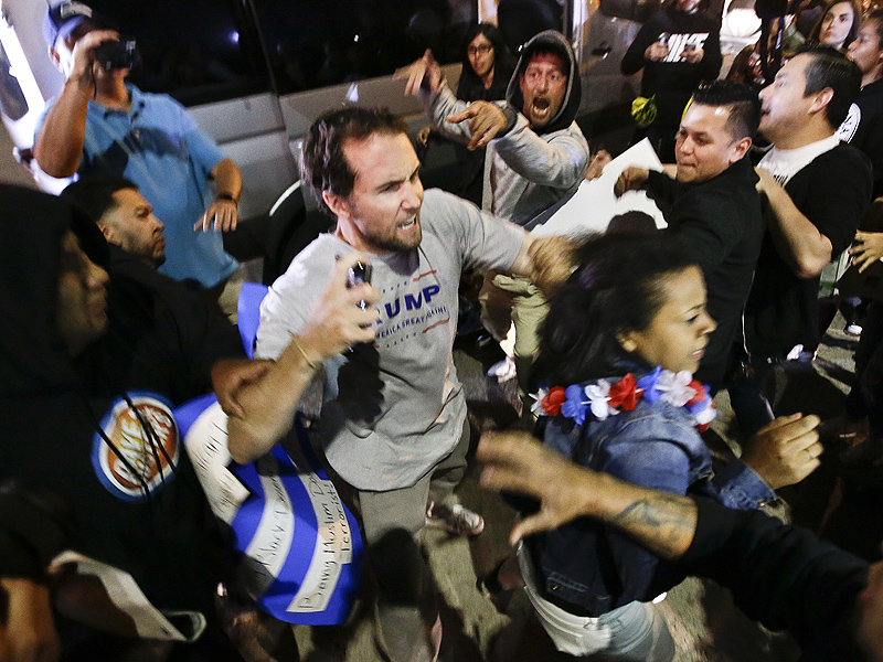 Donald Trump Rally: 20 Arrested at Southern California Rally