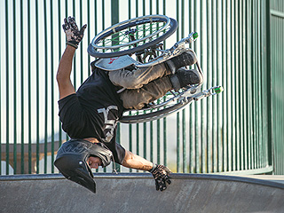 Extreme Sports Wheelchair Competitor Aaron 'Wheelz' Fotheringham Proves Spina Bifida Doesn't Hold Him Back