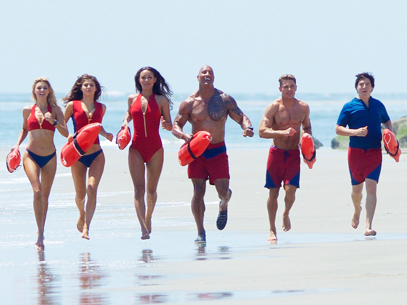 Zac Efron Pokes Fun at His Epic Tumble While Running 'Cool' on the Baywatch Set (But He Still Looks Good)| Baywatch, Movie News, Zac Efron