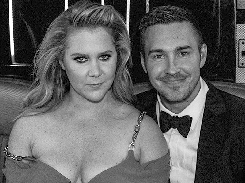 Amy Schumer Posts Sweet Snap with Boyfriend Ben Hanisch at the Met Gala
