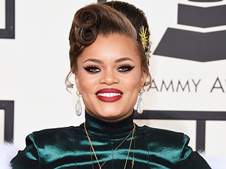 Andra Day Dishes on Her Dad's Backstage Adele Encounter at the Grammys: She Gave Him a Back Massage!