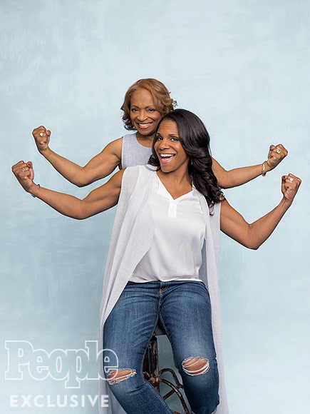 WATCH: Audra McDonald on What She Got from Her Mom (Her Strong Arms!) – and What She Didn't (Her Height!)| Mother's Day, Mother's Day Ad Tag, Audra McDonald