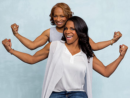 WATCH: Audra McDonald on What She Got from Her Mom (Her Strong Arms!) – and What She Didn't (Her Height!)